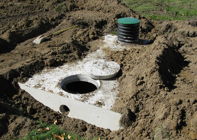 Septic tank indiana septic system design consulting meade for Septic tank designs