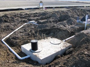 Septic tank indiana septic system design consulting meade for Gravity septic system design