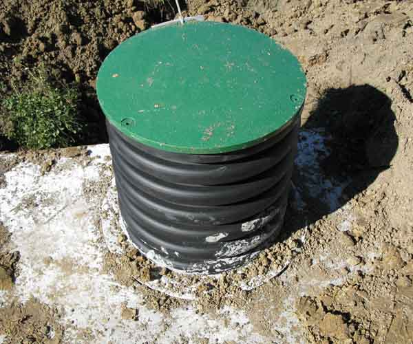 Installing your own septic tank system indiana septic for How to build a septic tank